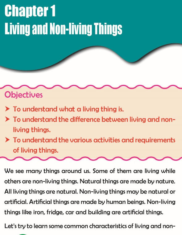 Grade 3 Science Lesson 1 Living And Non-Living Things