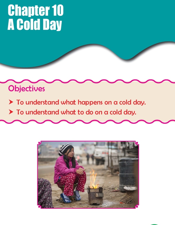 Grade 3 Science Lesson 10 A Cold Day