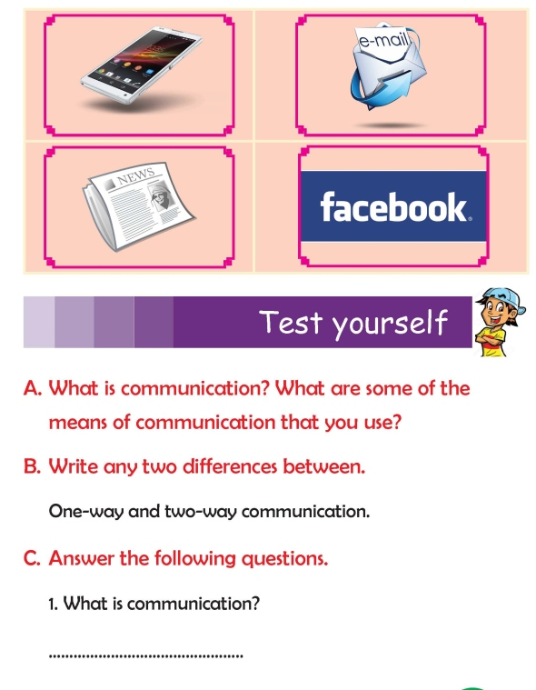 Grade 3 Science Lesson 13 Means Of Communication | Primary