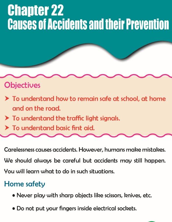 Grade 3 Science Lesson 22 Causes Of Accidents And Their Prevention