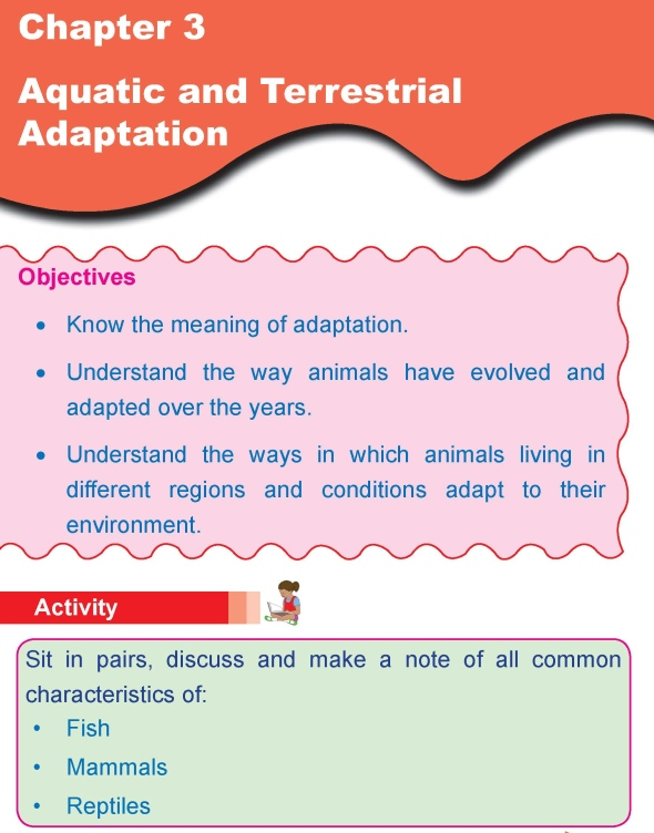 Grade 4 Science Lesson 3 Aquatic and Terrestrial Adaptation