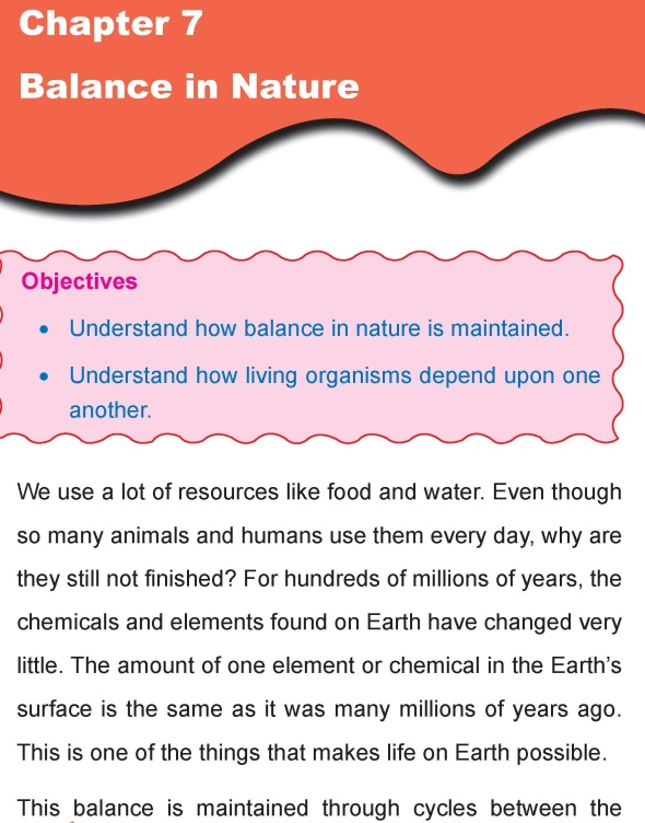 Grade 4 Science Lesson 7 Balance in Nature