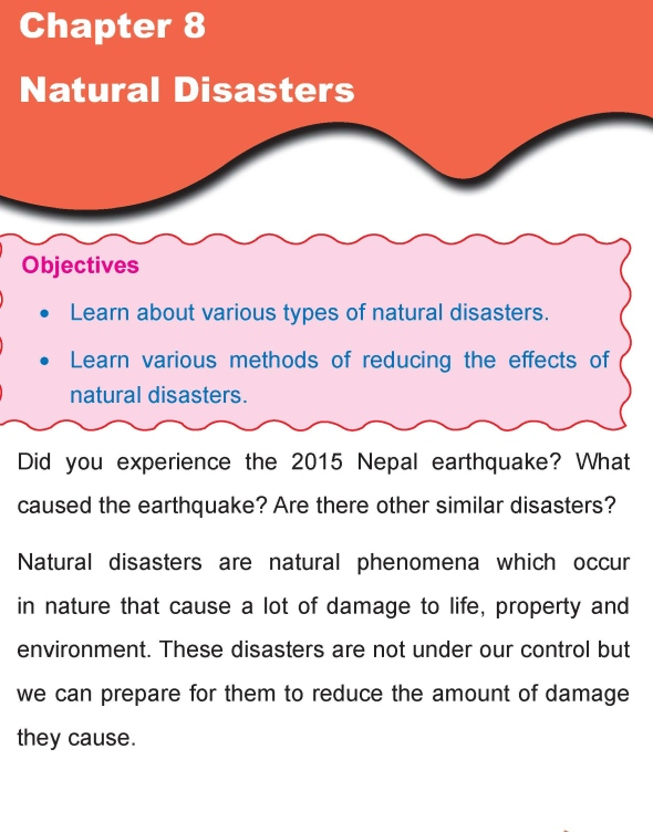 Grade 4 Science Lesson 8 Natural Disasters