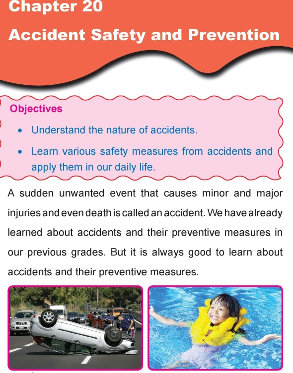 Grade 4 Science Lesson 20 Accident Safety and Prevention