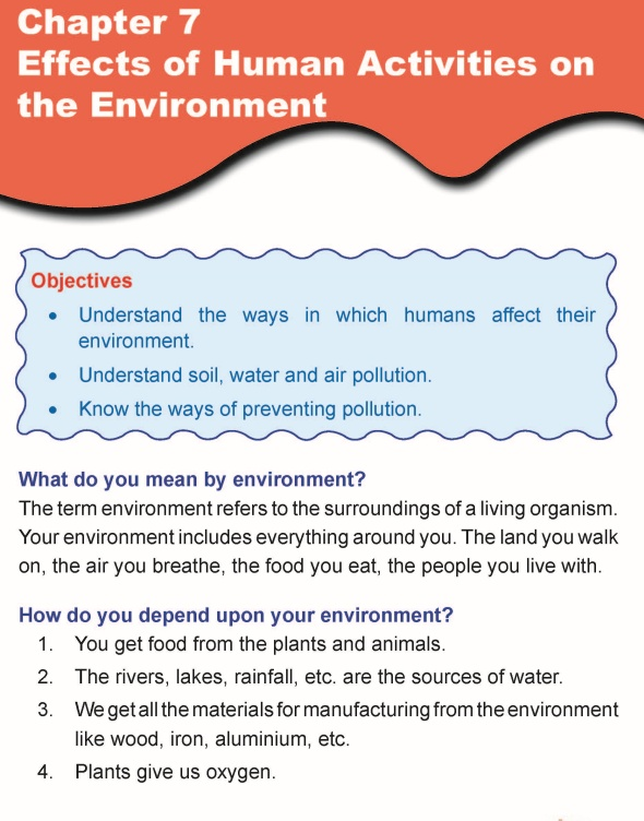Grade 5 Science Lesson 7 Effects of Human Activities on the Environment