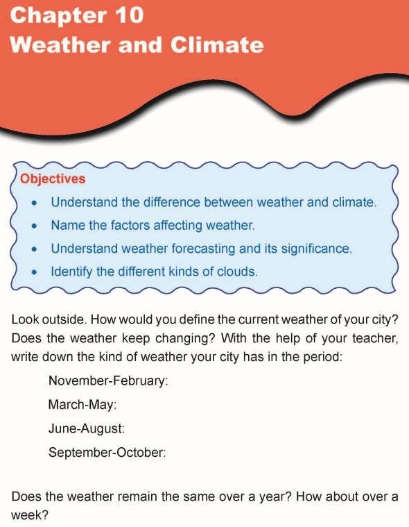 Grade 5 Science Lesson 10 Weather and Climate