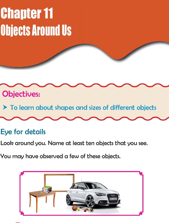 Grade 2 Science Lesson 11 Objects Around Us