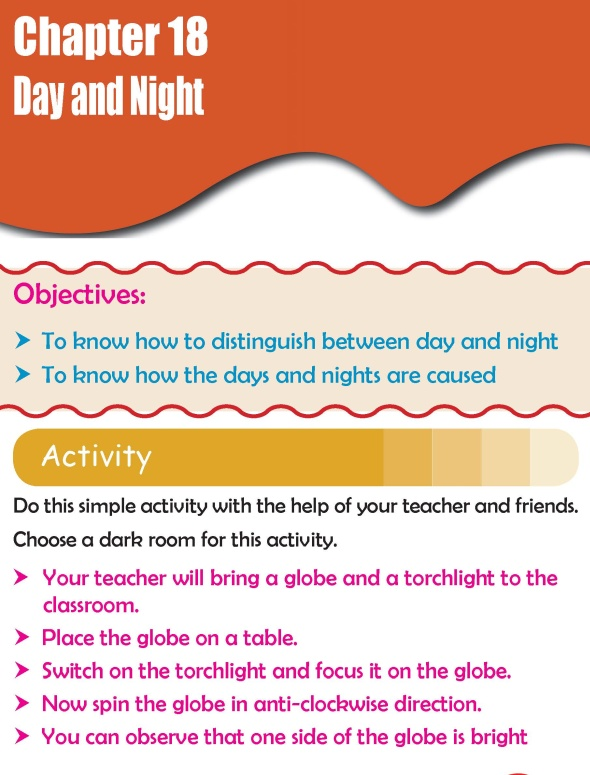 Grade 2 Science Lesson 18 Day and Night
