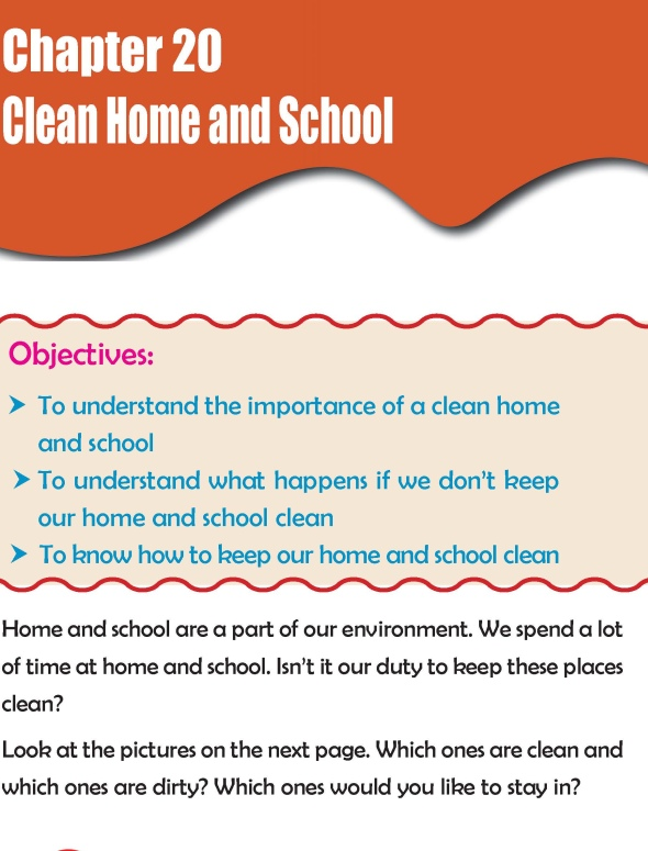 Grade 2 Science Lesson 20 Clean Home and School