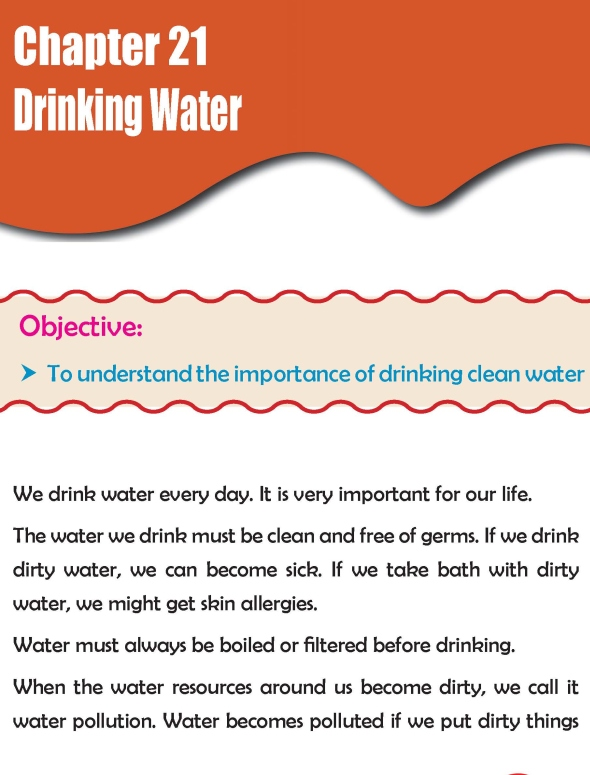 Grade 2 Science Lesson 21 Drinking Water