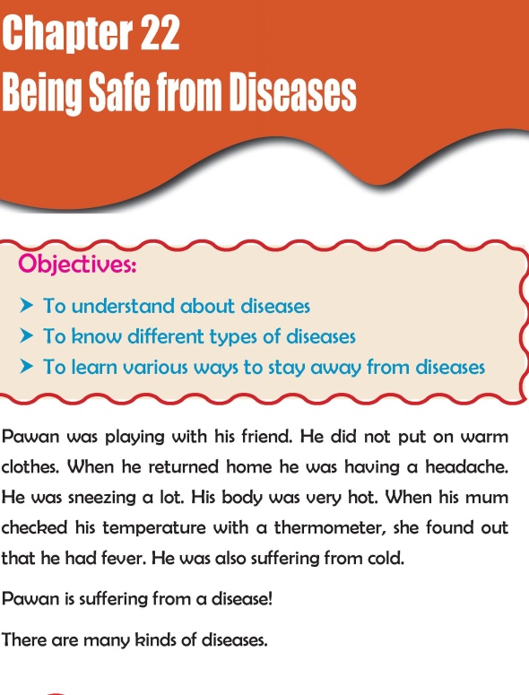 Grade 2 Science Lesson 22 Being Safe from Diseases
