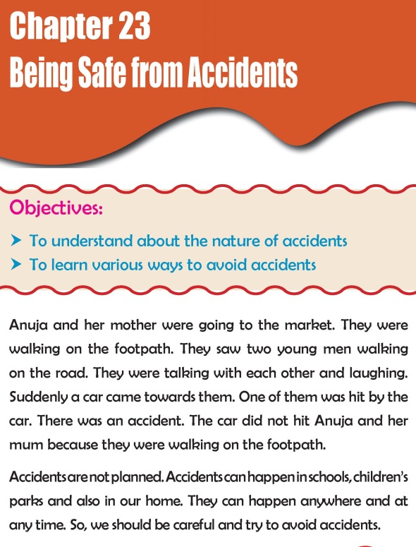 Grade 2 Science Lesson 23 Being Safe from Accidents