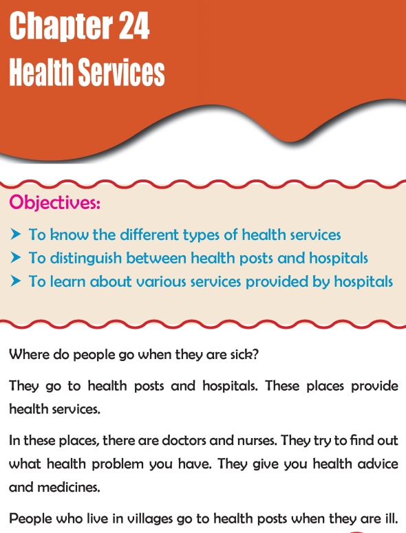 Grade 2 Science Lesson 24 Health Services